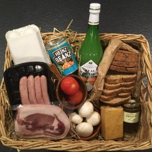 Food hampers and local products